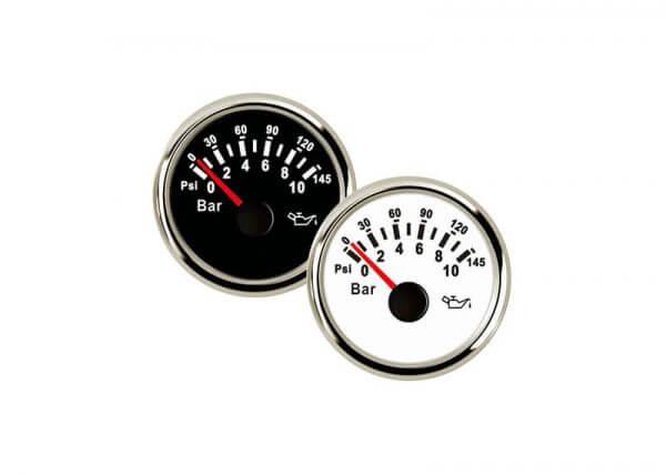 Oil Pressure 0-10bar Gauges