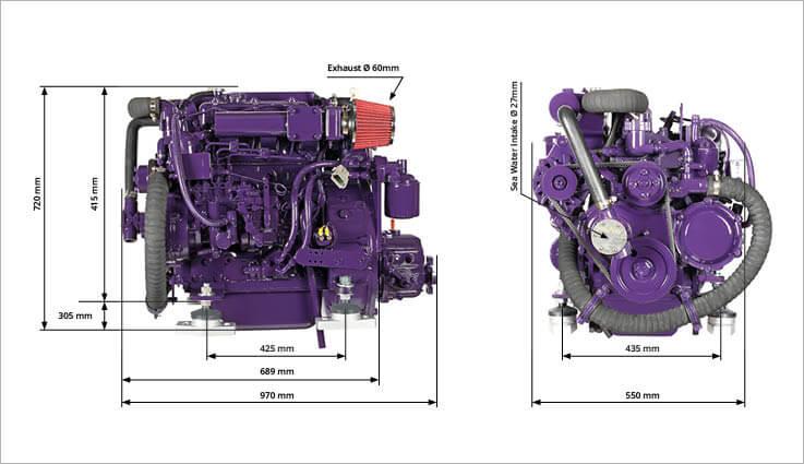 HM4.37 engine drawing