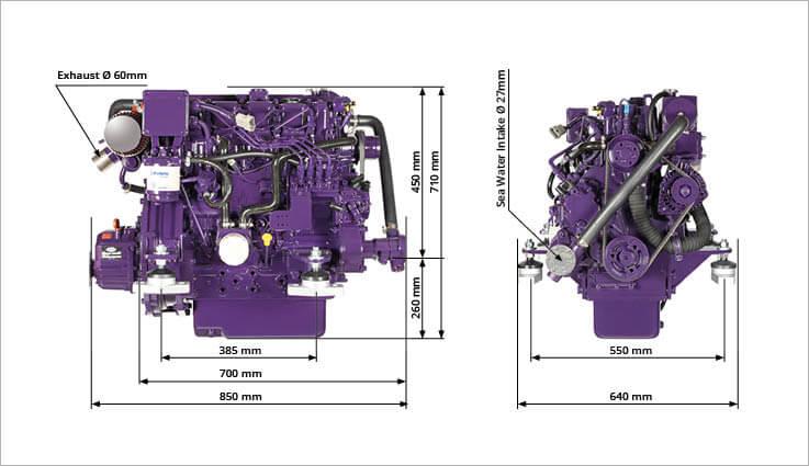 HM4.51 HM4.61 engine drawing