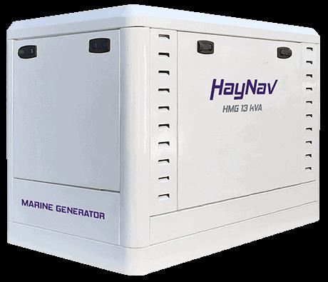 New HMG13 Generator - HayNav Marine